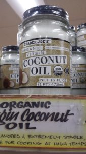 Coconut Oil at Trader Joe's Grocery Store